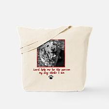 Thinking Dog Tote Bag