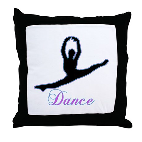 Dancers Gifts Throw Pillow