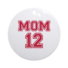 Mom 2012 Ornament (Round)