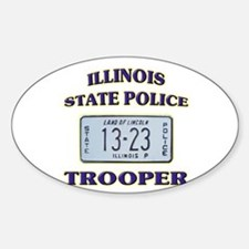 Illinois State Police Decal