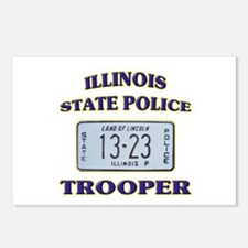 Illinois State Police Postcards (Package of 8)