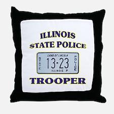 Illinois State Police Throw Pillow
