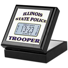 Illinois State Police Keepsake Box