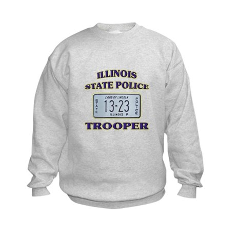 Illinois State Police Kids Sweatshirt