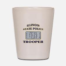 Illinois State Police Shot Glass