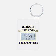 Illinois State Police Keychains