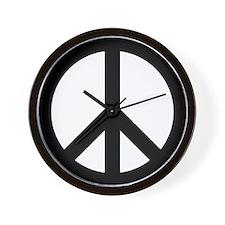 Peace Sign Wall Clock