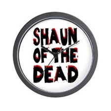 'Shaun of the Dead' Wall Clock