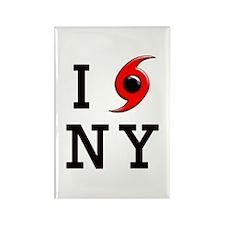 NY Hurricane Rectangle Magnet