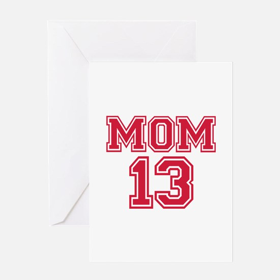 Mom 2013 Greeting Card