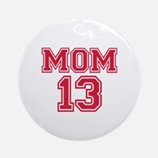 Mom 2013 Ornament (Round)