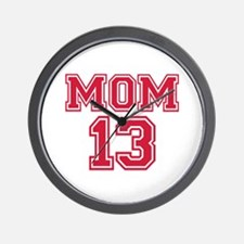 Mom 2013 Wall Clock