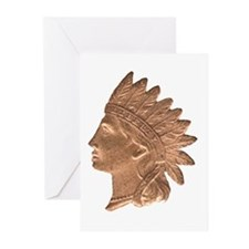 Indian Head Greeting Cards (Pk of 10)