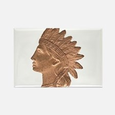 Indian Head Rectangle Magnet