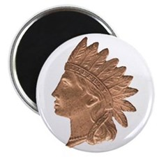 Indian Head Magnet