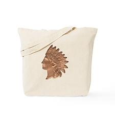 Indian Head Tote Bag