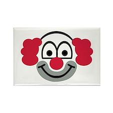 Clown face Rectangle Magnet