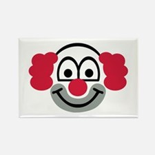 Clown face Rectangle Magnet
