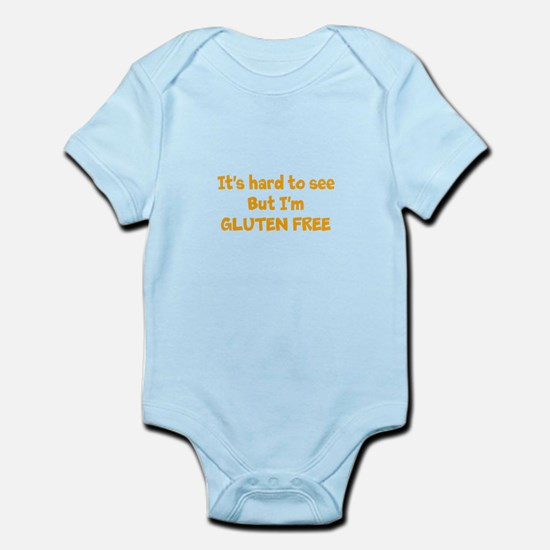 Hard to see, Gluten free Infant Bodysuit