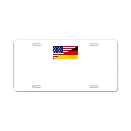 German Schatz Aluminum License Plate