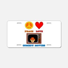 Comedy Movies Aluminum License Plate