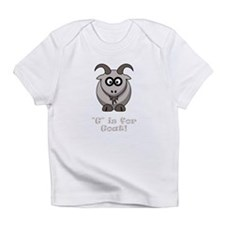 G is for Goat! Infant T-Shirt