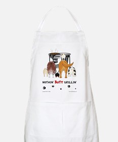 Nothin Butt Grilling Dog BBQ Apron