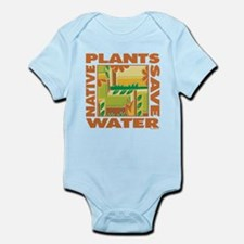 Native Plant Landscaping Infant Bodysuit