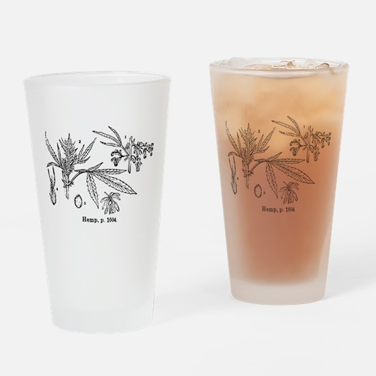 Hemp Drinking Glass