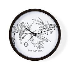 Hemp Wall Clock