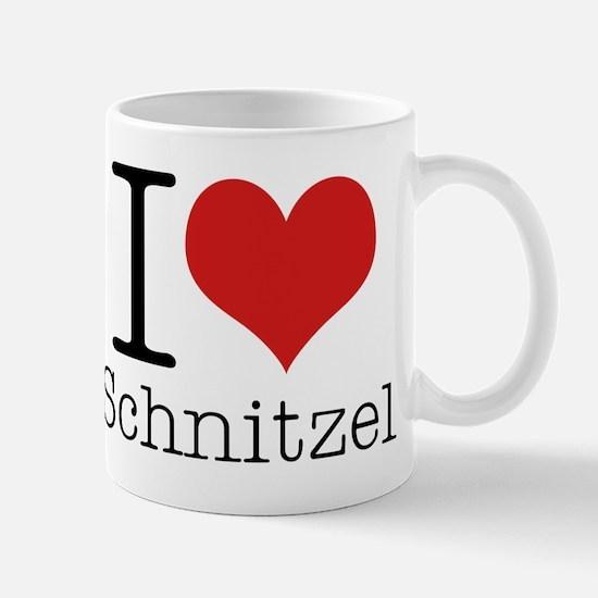 I {heart} Schnitzel Mug