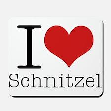I {heart} Schnitzel Mousepad