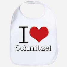 I {heart} Schnitzel Bib