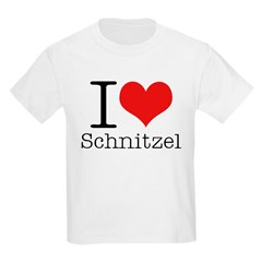 I {heart} Schnitzel T-Shirt