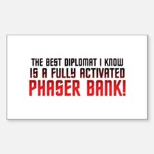 Phaser Bank Decal