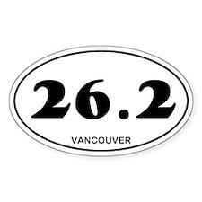 Vancouver Marathon Decal