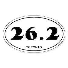 Toronto Marathon Decal