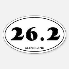 Cleveland Marathon Sticker (Oval)