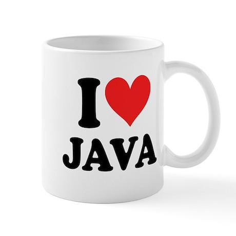 I Heart Java: Mug