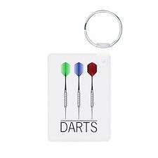 3 Darts Keychains