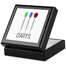 3 Darts Keepsake Box