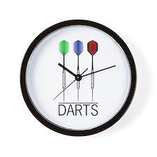 3 Darts Wall Clock