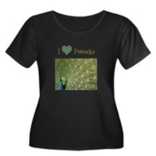 I Love Peacocks T