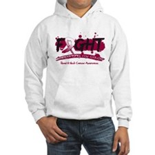 Fight Head Neck Cancer Cause Hoodie