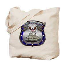 US Navy Shield and Eagle Tote Bag