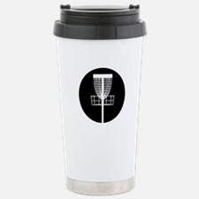 Disc Golf Basket Travel Mug