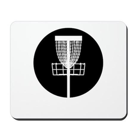 Disc Golf Basket Mousepad