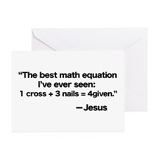 Best Math Equation Greeting Cards (Pk of 10)