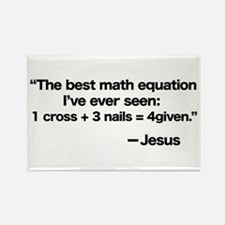 Best Math Equation Rectangle Magnet (10 pack)