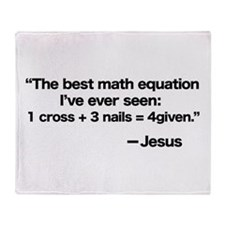 Best Math Equation Throw Blanket